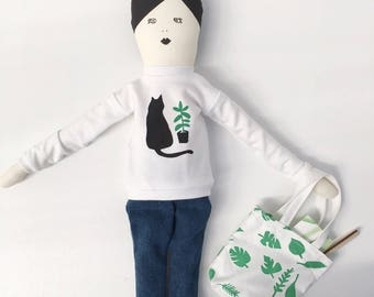 Petal, a limited edition doll