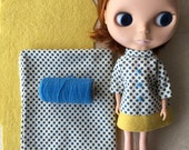 Blythe Blue Dot Dress