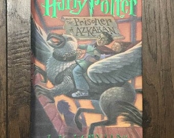 Harry Potter and The Prisoner of Azkaban First Edition / 1st Print JK Rowling Hard Cover