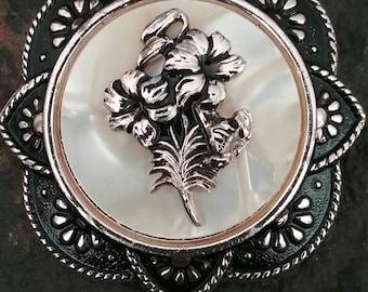 Scarf Clip, Vintage Scarf Clip, Vintage Jewelry, Women's Scarf Clip, Scarf, Scarf Accessories, Scarf Jewelry