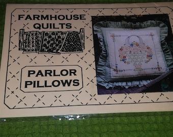 Farmhouse Quilts Parlor Pillow Pattern