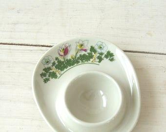 Vintage Figgjo Flint Eggcup Plate