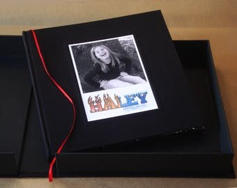 Deluxe Custom Bar / Bat Mitzvah Guest Book · Photo Booth Guest Book Album · DIY Bar / Bat Mitzvah Scrapbook · Large Photobooth Guestbook