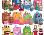 Stephen Joseph backapck / personalized backpack / preschool backpack / toddler backpack / SIDEKICK