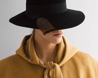 ATHENA wide brim hat