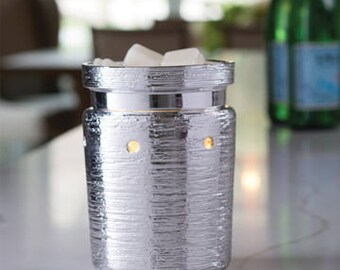 Brushed Chrome Fragrance Warmer