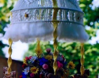 Macrame Hanging Lamp Pattern Vintage Carousel Vessel Home Decor Furnishing Digital PDF Reproduction e Pattern Instant Download