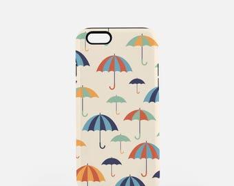iPhone 7 Case, iPhone 7+ Case, Umbrella Phone Case, iPhone Case, Samsung Galaxy, Quirky, cute phone case, Vintage, Vintage Phone Case