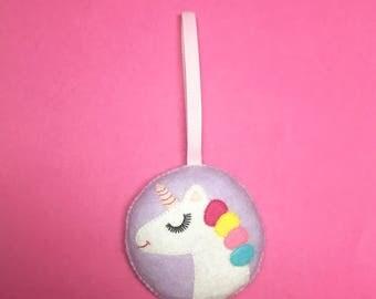 Unicorn Ornament - Unicorn Decoration - Unicorn Christmas Decoration - Unicorn Christmas Ornament - Unicorn Decor - Unicorn Wedding