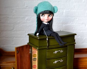 1:6-3 Scale Patisserie French Macaron Doll DRESSER for Blythe, Bjd and Other Dolls ~ Furniture Piece