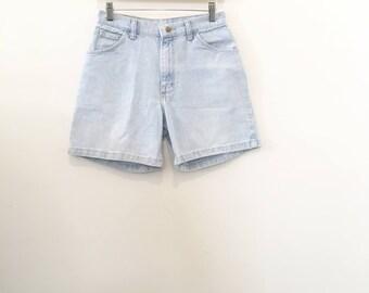 90's Light Wash Wrangler Shorts