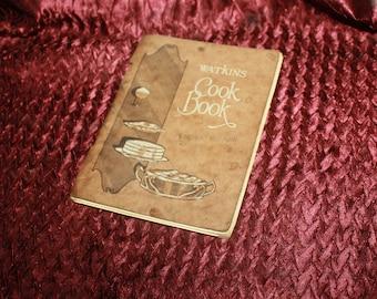 vintage 1926 Watkins cookbook  small flyer type