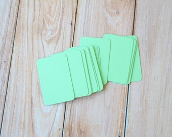 Mint Green Vintage Series Business Card Blanks
