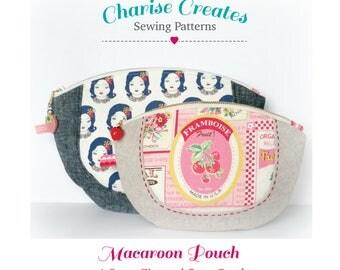 Macaroon Zipper Pouch Pattern