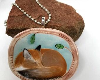 Wake Up Mr Fox! Fox Pendant