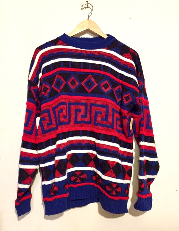 Geometric Shapes Sweater
