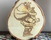 Wood Christmas Ornament, ...