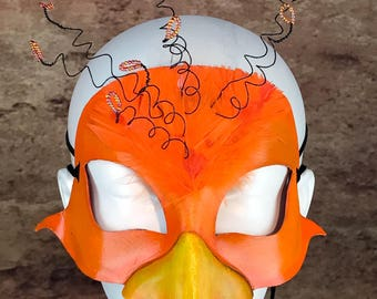 Orange Bird Mask