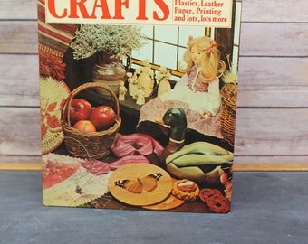 1977 The Golden Hands Complete Book of Crafts