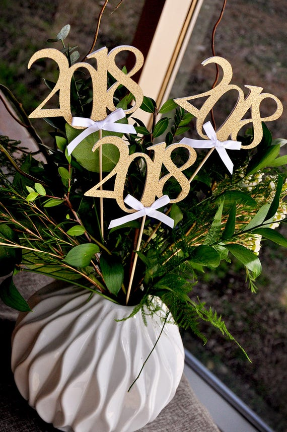 2018 graduation centerpiece sticks with bows crafted in 3 6