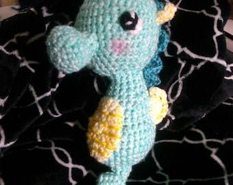 Crochet seahorse READY TO SHIP