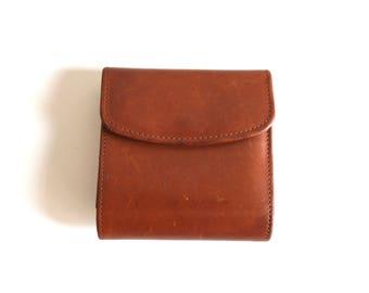 Cognac Coach Wallet