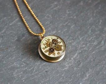 Shotgun Shell Pendant Necklace