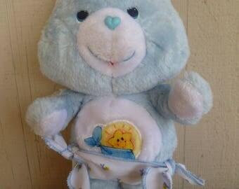 Care Bears Baby Tugs Plush 1983