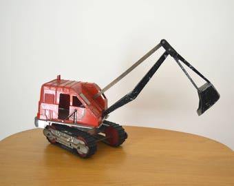 Vintage Hubley Toy Excavator