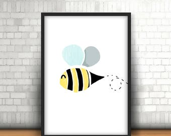 Bee Downloadable Print