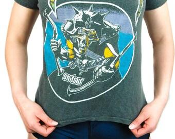 Vintage Nazareth shirt Concert shirt Band Tee 1980s L