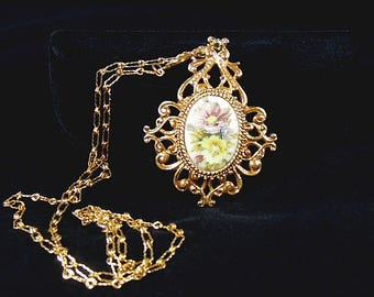 Florenza Necklace, Victorian Revival Style