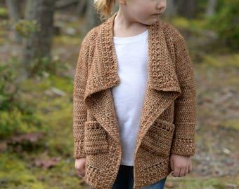 CROCHET PATTERN-The Jadore Sweater 1/2, 3/4, 5/6, 7/8, 9/10, 11/13, xsm, sm, med, med/large, large, xlarge, xxlarge, 3xlarge, 4xlarge