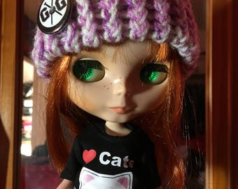Blythe Doll Knitted Hat Beanie