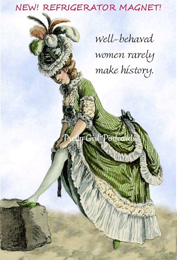 Fridge Magnet. Women. Women Suffragettes. Fridge Magnets. Hillary. Marie Antoinette. Suffragettes. Nasty Woman. Gifts For Her. Free Shipping