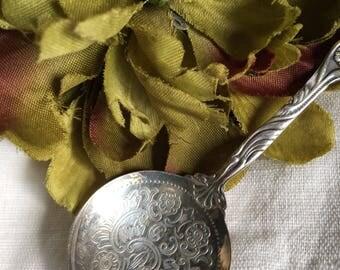 Nils-Johan Silverplate Bon Bon Spoon NIJ4 Sweden Vintage Silver Plate BonBon EPNS ~ #R2018