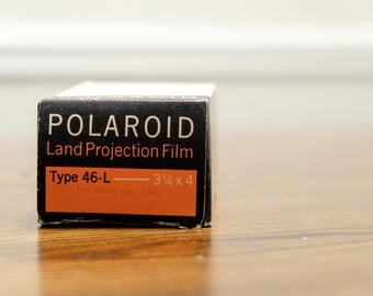 Polaroid Type 46-L  Land Projection Film