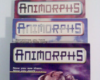 Animorphs Books, Set of 3