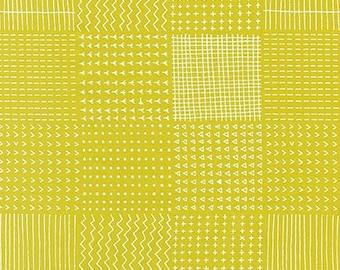 Blueberry Park Rough Patch in Wasabi, Karen Lewis Textiles, Robert Kaufman Fabrics, 100% Cotton Fabric, AWI-15751-371 WASABI