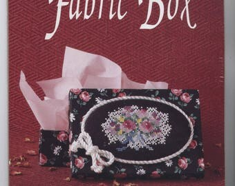 Bouquet Fabric-Covered Box Counted Cross-Stitch Kit