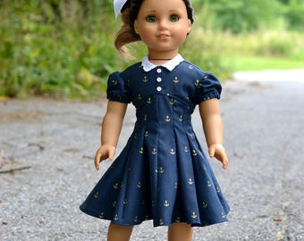 1950s Dress for American Girl 18 inch doll
