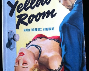Vintage Paperback Bantam 314 The Yellow Room by Mary Roberts Rinehart 1944 NM Unread