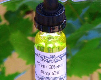 New Mown Hay Oil Spiritual Ritual Oil Anointing New Beginnings Business Ventures CURIO Gypsy Witch Magick Pagan Wicca