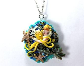 Peter Pan Mermaid Neverland Siren Octopus