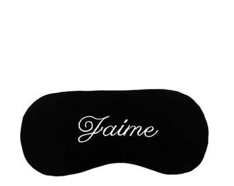 Personalized sleep eye mask
