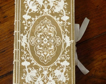 RIBBON OPTION C: Side Tie Ribbon Closure add on for Spellbinderie Journals and Guestbooks