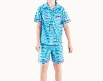 Marseilles Cotton Boxer Shorts