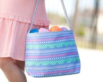 Monogrammed Easter Basket, Personalized Easter Bucket, Easter Bucket For Girls, Custom Easter Bag, Easter Egg Basket, Monogram Candy Bucket