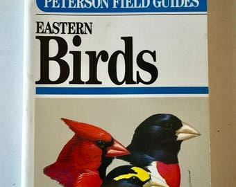 Eastern Birds Vintage Peterson Field Guides Paperback By Roger Tory 1980