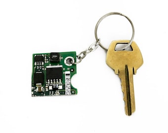 Circuit Board Key ring, Geek Gift - Geekery, Tech Gift